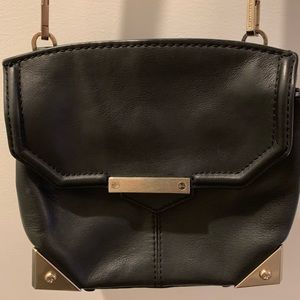 Alexander Wang Leather Marion bag pewter trim